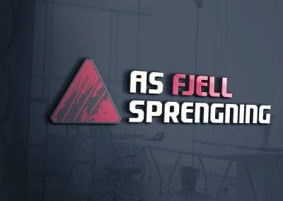 LOGO - AS Fjellsprengning, MOCKUP