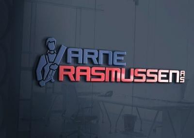 LOGO - Arne Rasmussen lang,MOCKUP