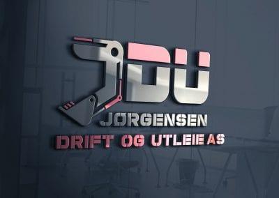 LOGO - Jørgensen Drift og Utleie AS, MOCKUP