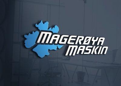 LOGO - Magerøya Maskin, MOCKUP